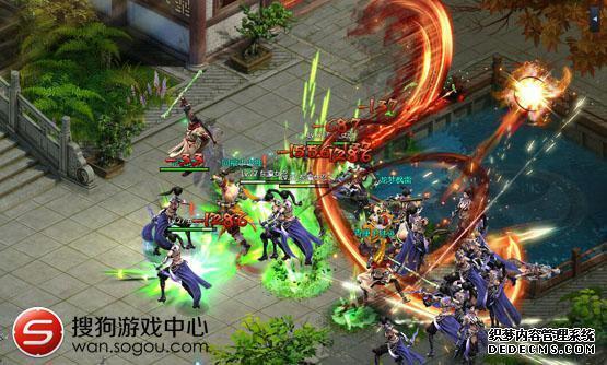 一亿玩家的武侠梦 搜狗游戏剑侠情缘2网页版将首发